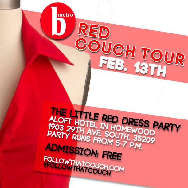 Thursday is the Little Red Dress Party at Aloft