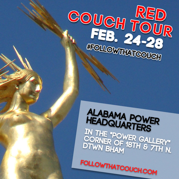 Final week of #FollowThatCouch begins Feb. 24